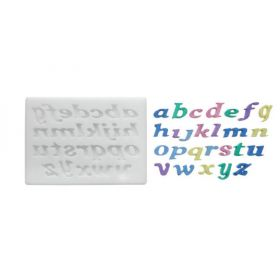 Moule silicone lettres minuscules
