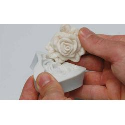 Moule silicone 3 roses ht 26 mm