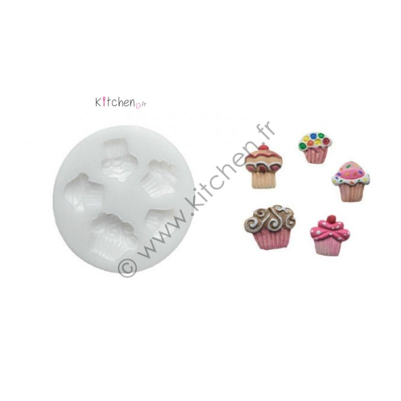 Moule silicone cupcakes