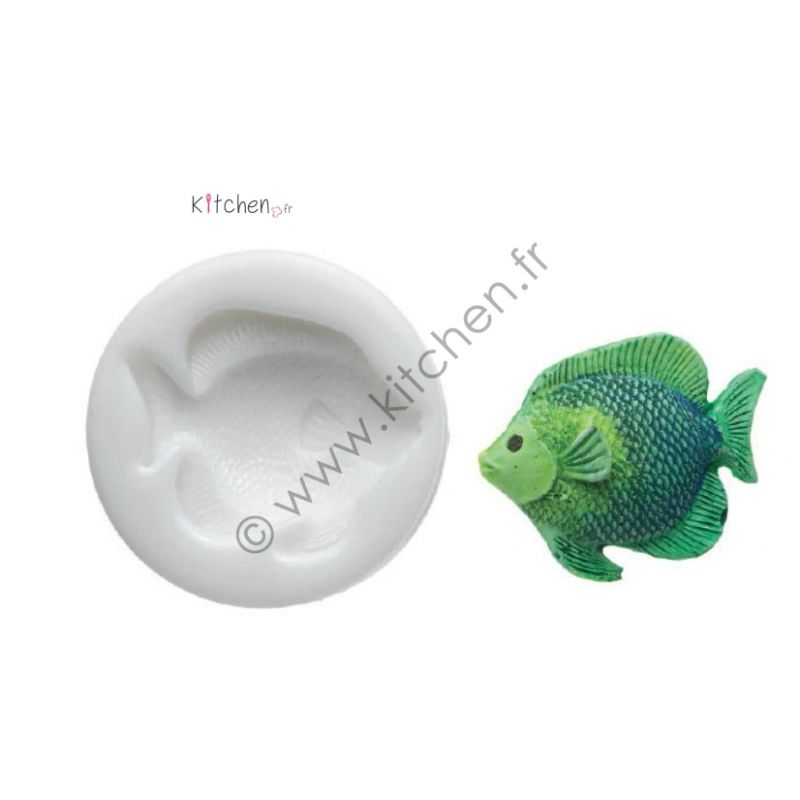 Moule silicone poisson  HT55 mm