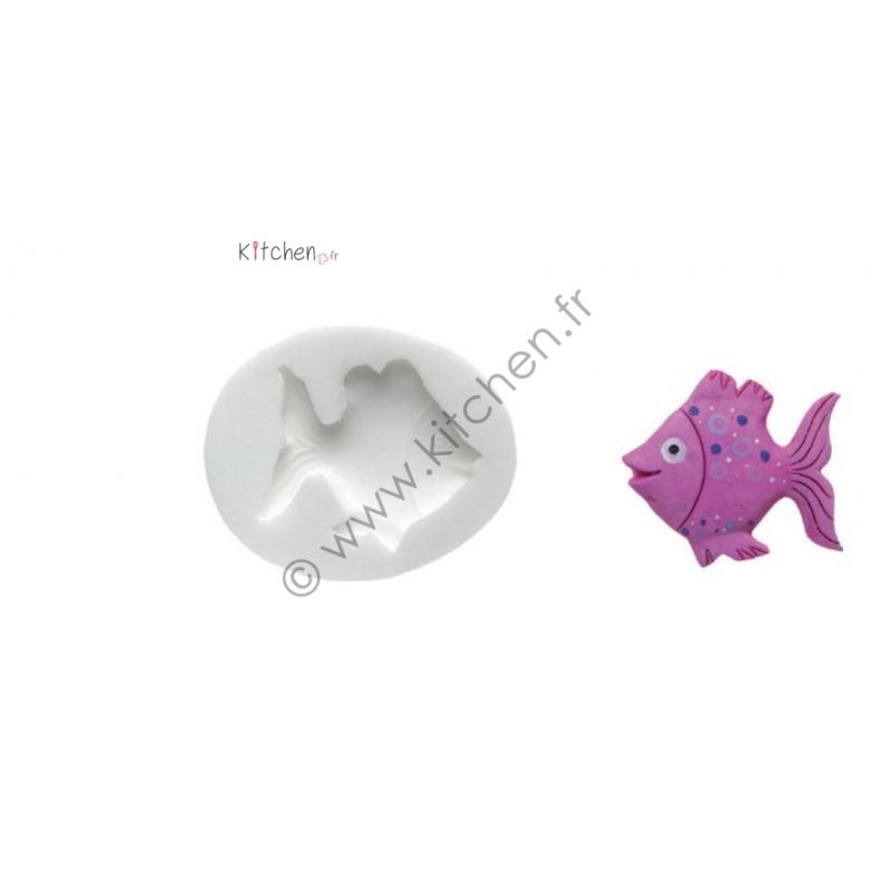 Moule silicone poisson HT 26 mm
