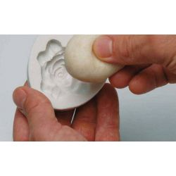 Moule silicone coquillage HT 44 mm