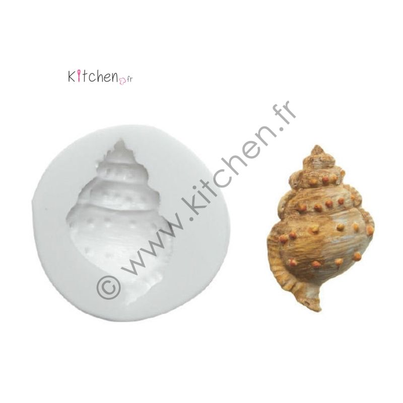 Moule silicone coquillage HT 54 mm