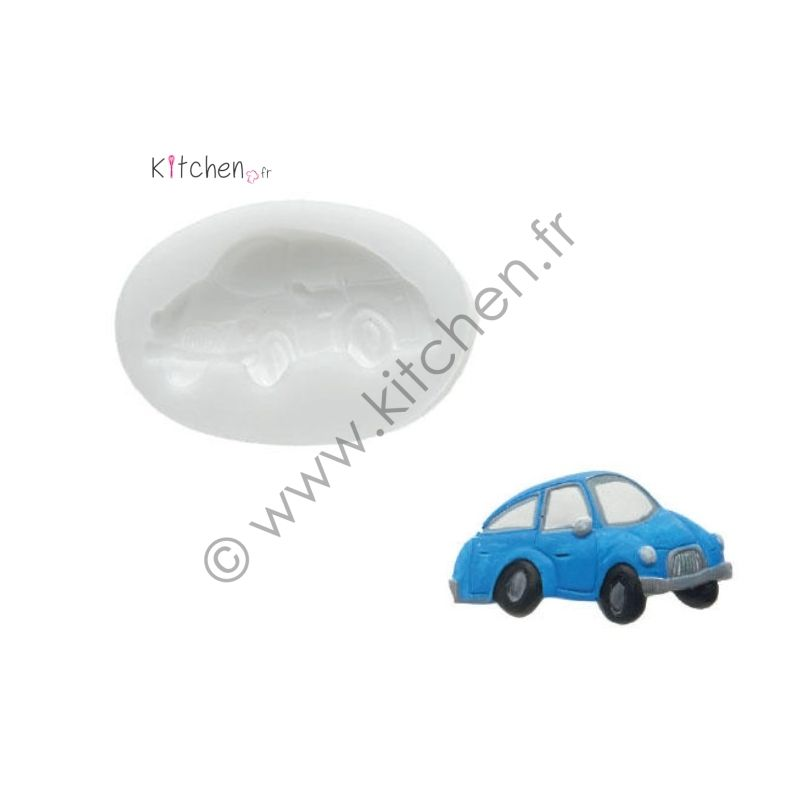Moule silicone voiture HT 34mm