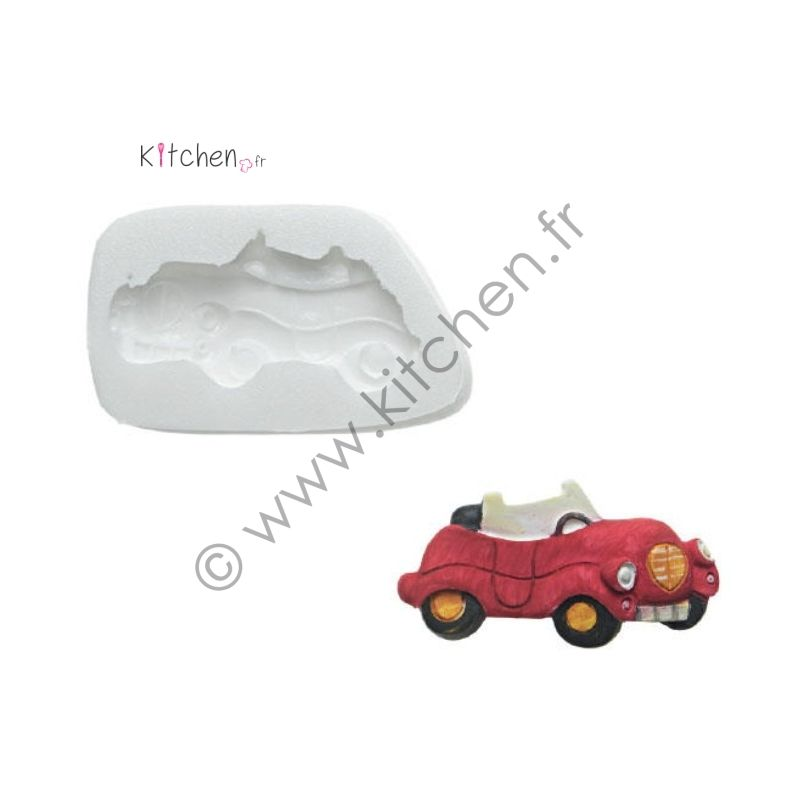 Moule silicone voiture HT 20 mm