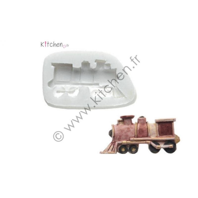 Moule silicone train HT 25mm