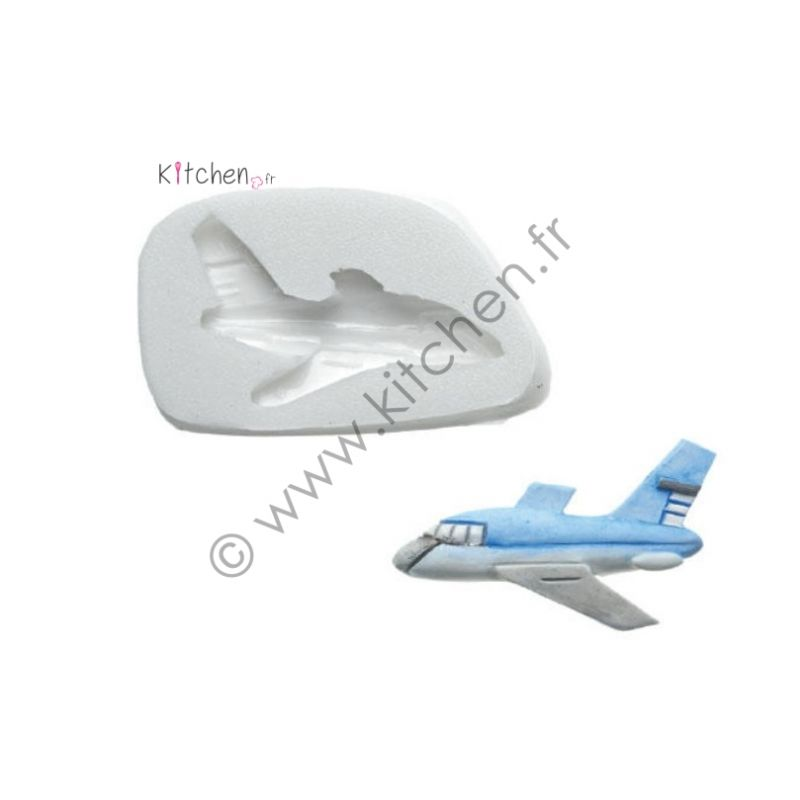 Moule silicone avion HT 25mm