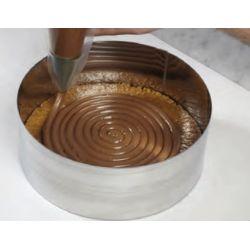 Cercle haut cake design ht14 cm