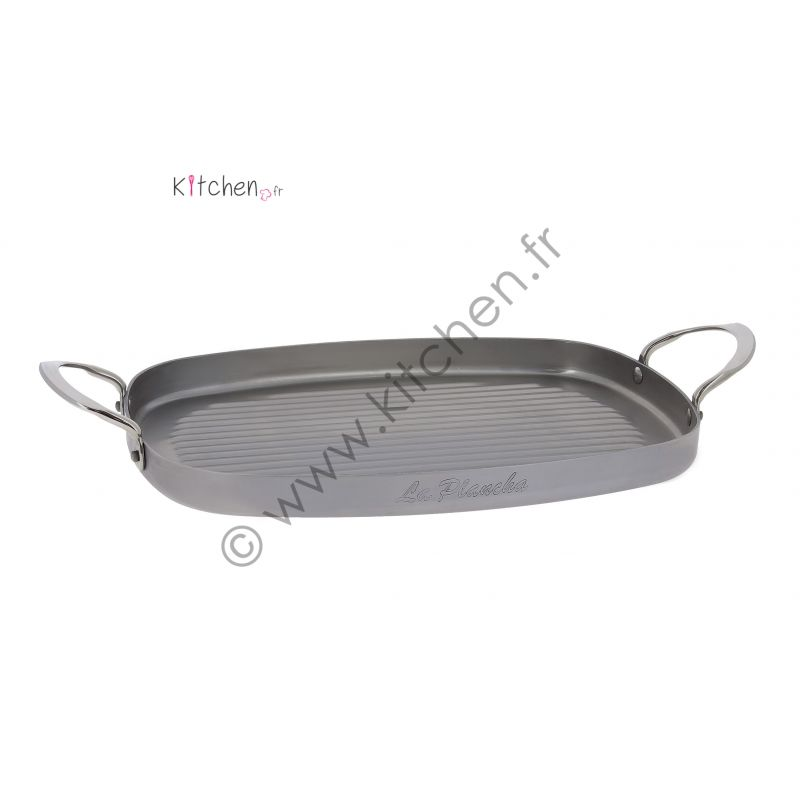 Poele Grill rectangulaire Mineral B Element