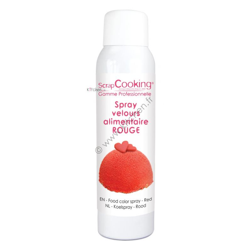 Spray Velours alimentaire 150 ml