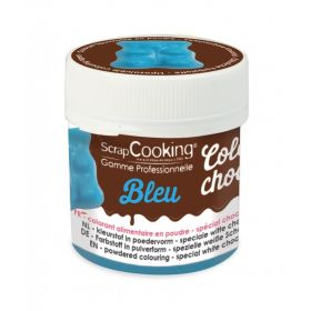 Color'choco liposoluble de 5 g Bleu