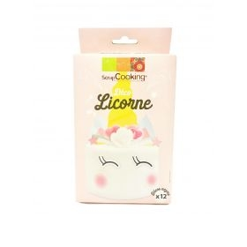 Kit Licorne en décorations azyme