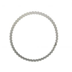 Cercle à tarte bord droit 20 cm