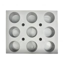 Moule muffins - Plaque 9 muffins