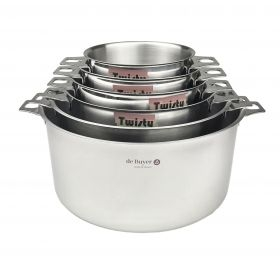 Casseroles Inox TWISTY - 6 diamètres de faitout disponibles