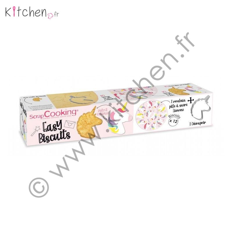 Kit Biscuits Licorne