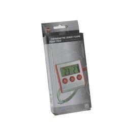 Thermomètre de cuisine muni d'un minuteur