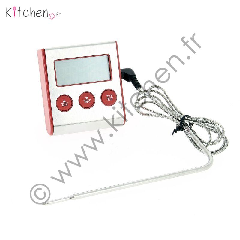 Thermomètre digital et minuteur
