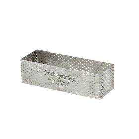 Rectangle perforé en inox De Buyer 3,5 cm