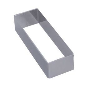 Rectangle avec angles vifs et en inox