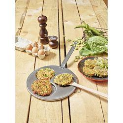Spatule en bois de hêtre pour retourner vos aliments