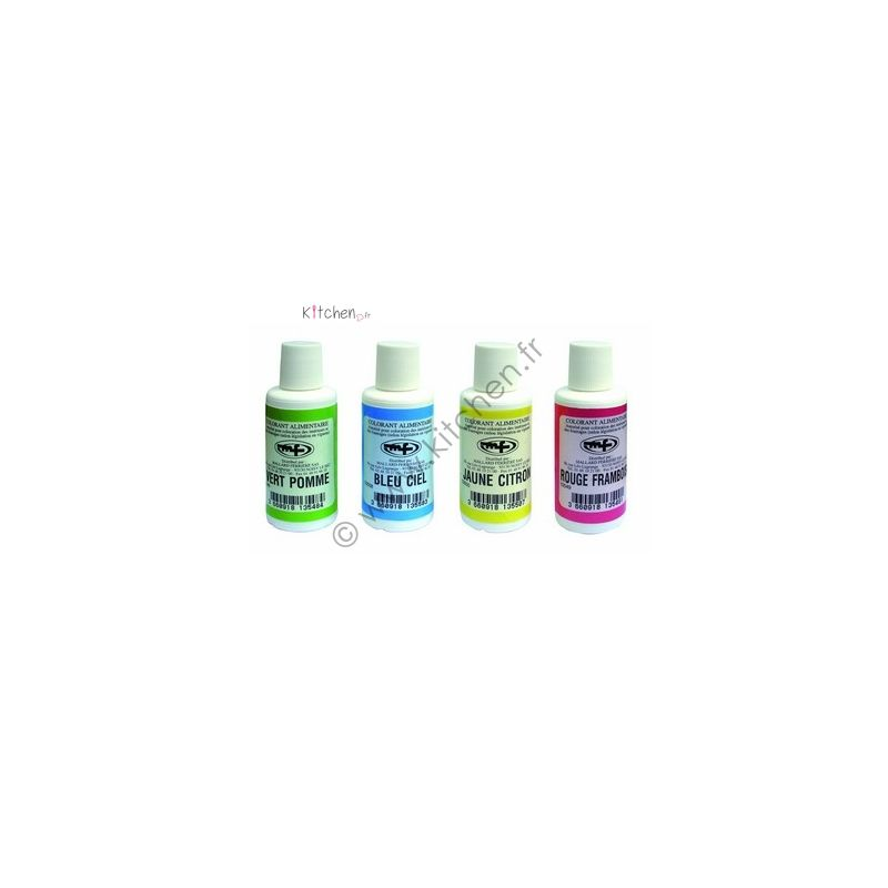 Colorants alimentaires liquides 100 ml