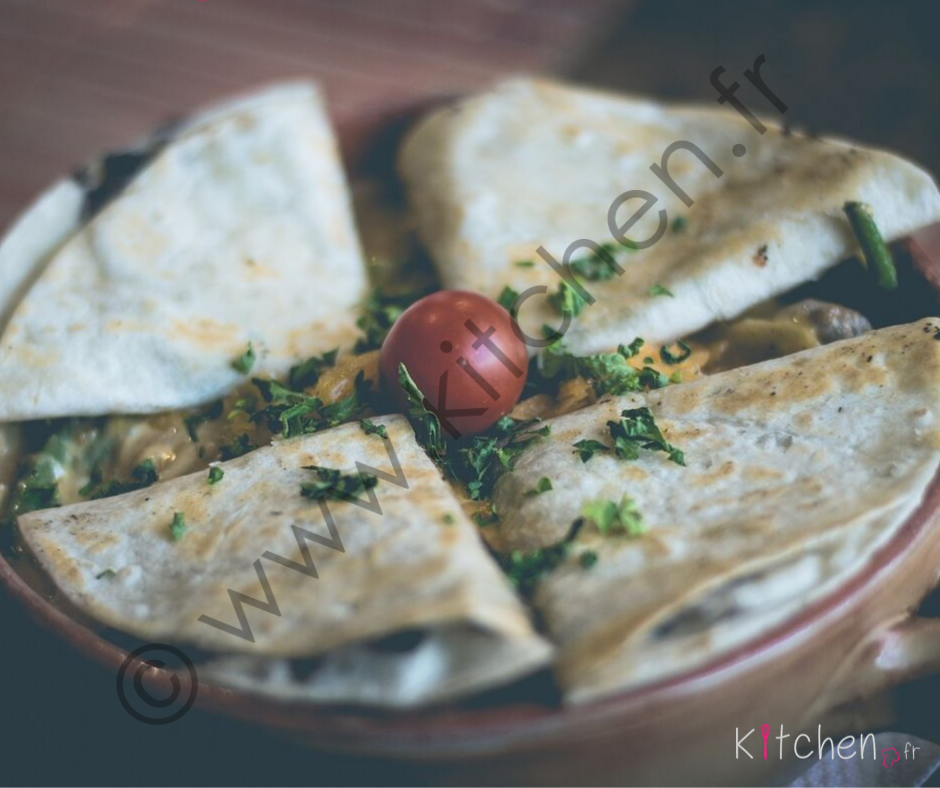 quesadillas mexique