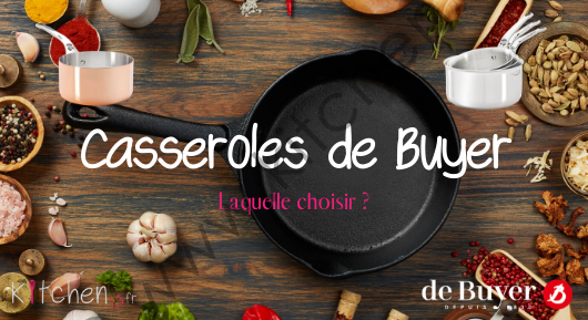 casseroles de buyer