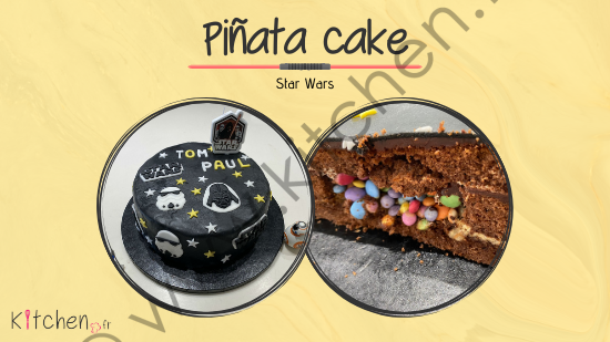 pinata cake star wars